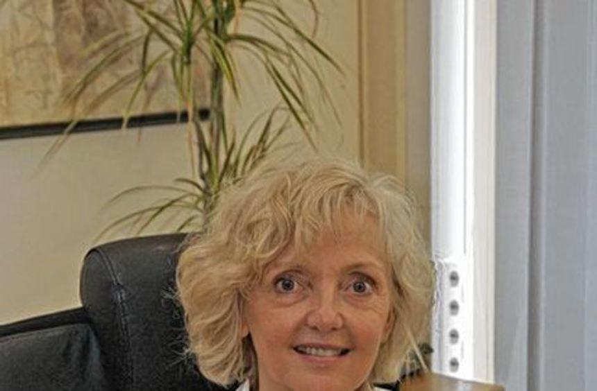 Dr. Schenk-Zitsch vertritt momentan Bürgermeister Höfer.