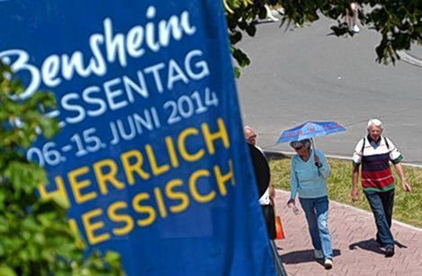 Der Hessentag, zuletzt in Bensheim, gilt als teuerstes Landesfest.