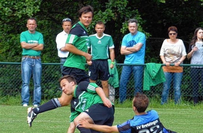Hiergeblieben: Die Konkurrenz nicht enteilen lassen möchte der SV Bretzingen. Nach dem ersten ...