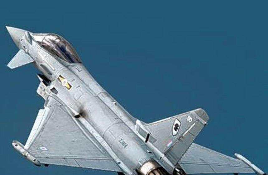 """Die Mängelliste beim """"Eurofighter"""" wird immer länger."""