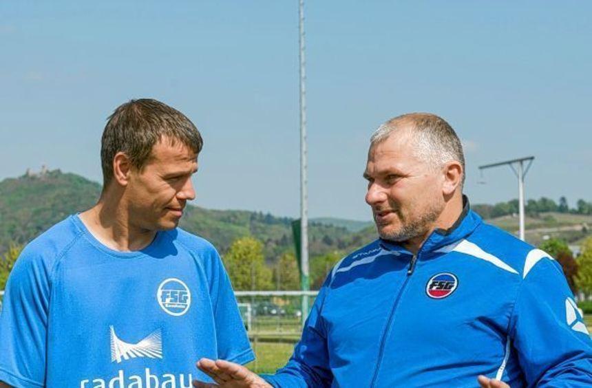 Auch das Comeback von Thorsten Schaffert (links) konnte die Talfahrt der FSG Bensheim nicht ...