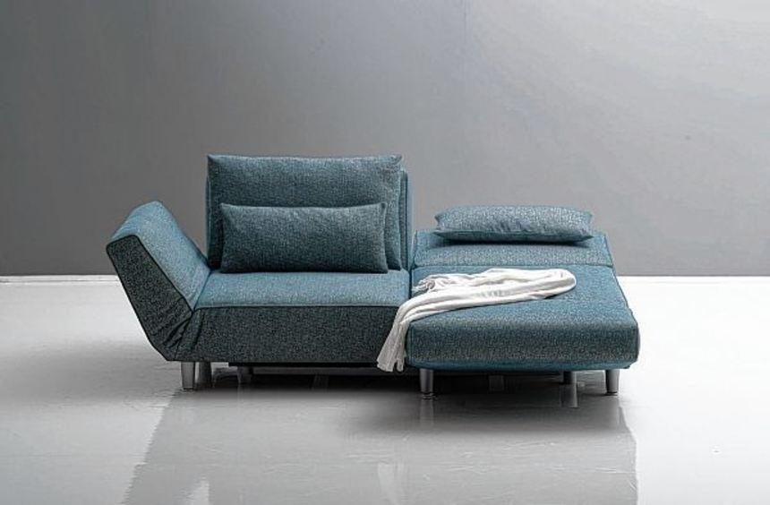Die Modelle müssen zum Beispiel auch als Gästebett funktionieren können, hier von Die Collection.