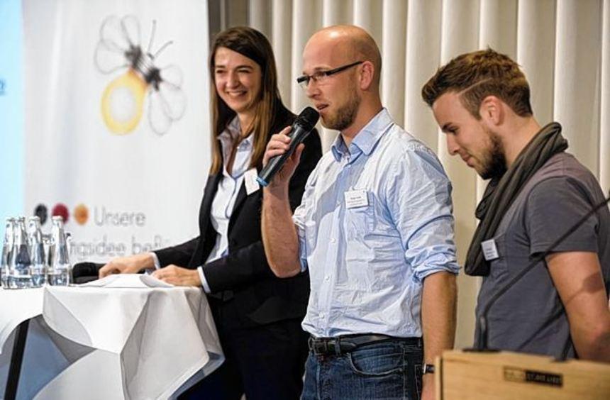 Die Vertreter von Active Learning beim Netzwerktreffen in Berlin.