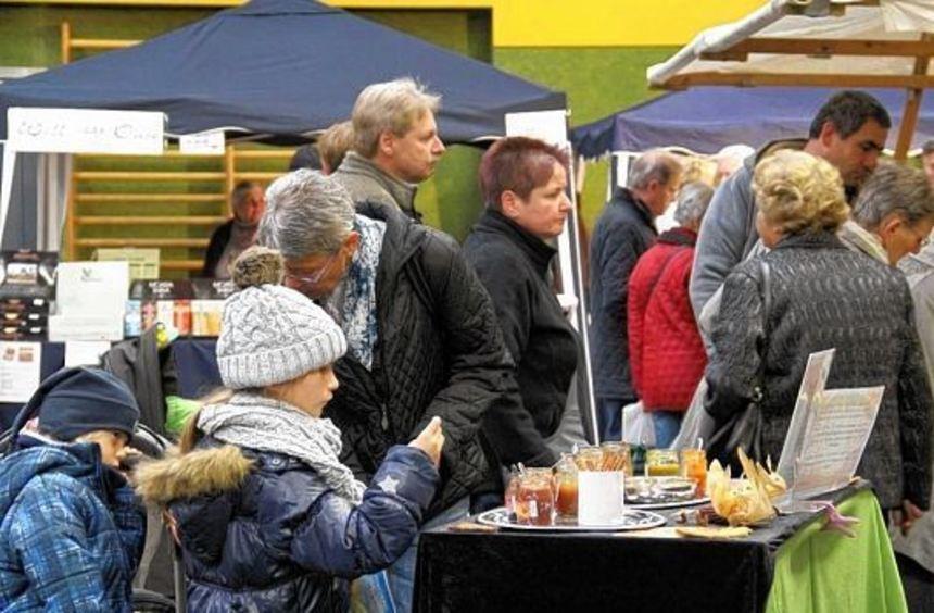 """Die Messe """"Gesund & Genuss"""" öffnet vom 17. bis 19. Oktober in der Grünewaldhalle wieder ihre ..."""