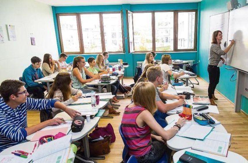 Im Gebäude B sind sechs zusätzliche Klassenzimmer entstanden.