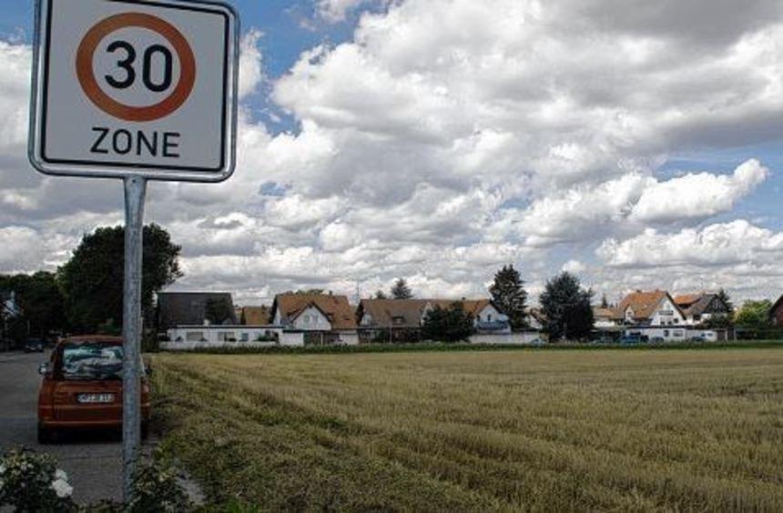 """Wenn das Wetter mitspielt, könnten die Baugrundstücke auf der """"Hockenwiese"""" und im ..."""