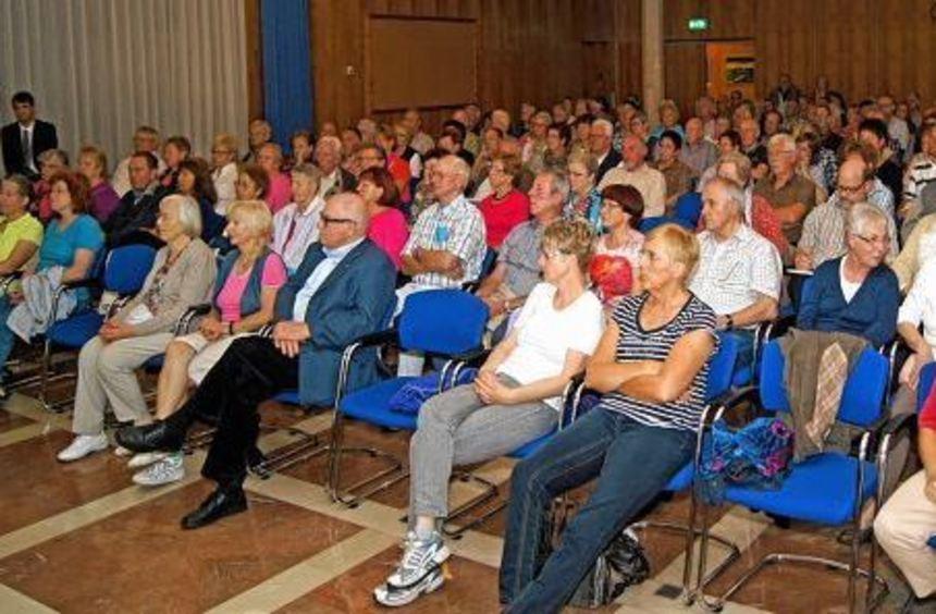 Das Interesse am Vortrag über Gefäßerkrankungen war sehr groß.