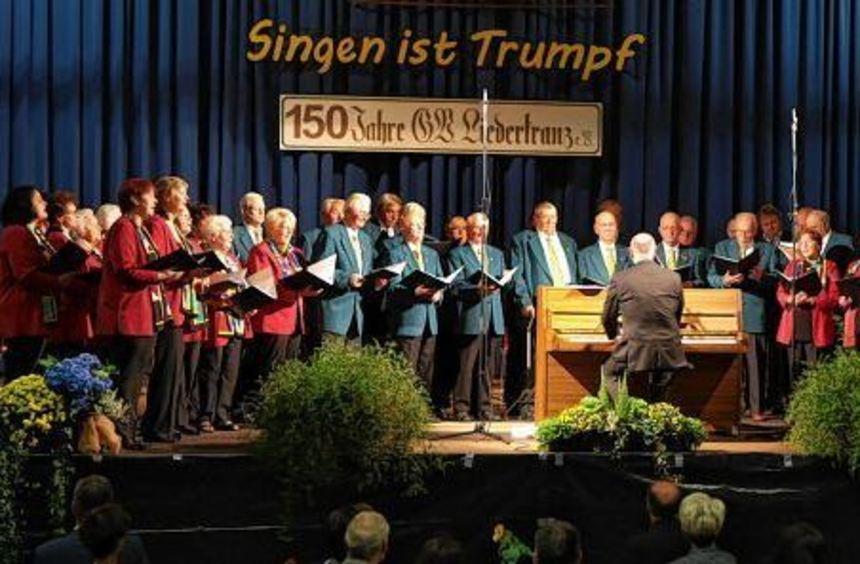 Seit 150 Jahren trifft der Liederkranz den richtigen Ton.
