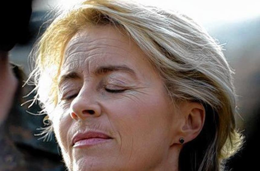 Die ruhigen Momente sind für Ursula von der Leyen derzeit selten.