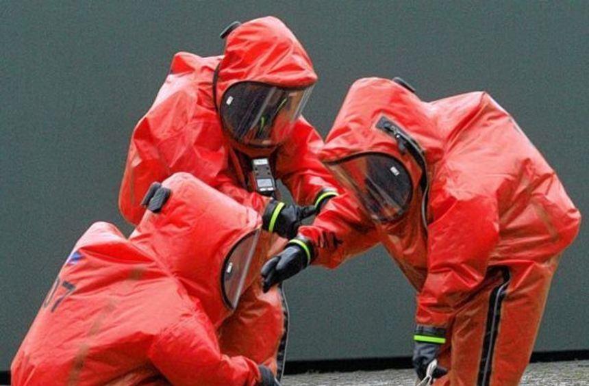 Etwa 400 Kräfte aus dem militärischen und zivilen Rettungsschutz probten bei einer ...