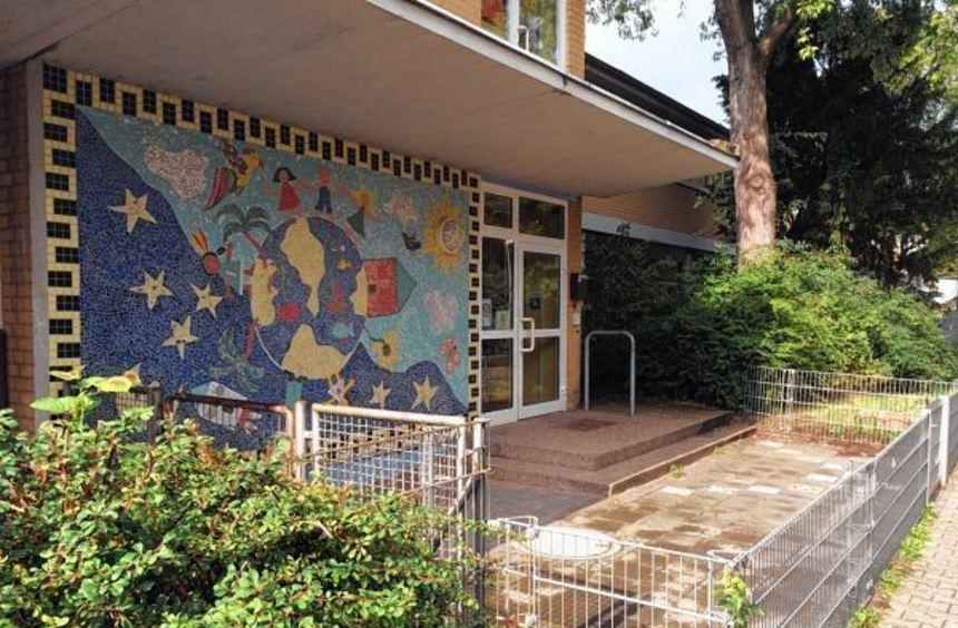 Das Kinderhaus Käfertal - hier der Eingang zum alten Gebäude - besteht eigentlich aus zwei Häusern. ...