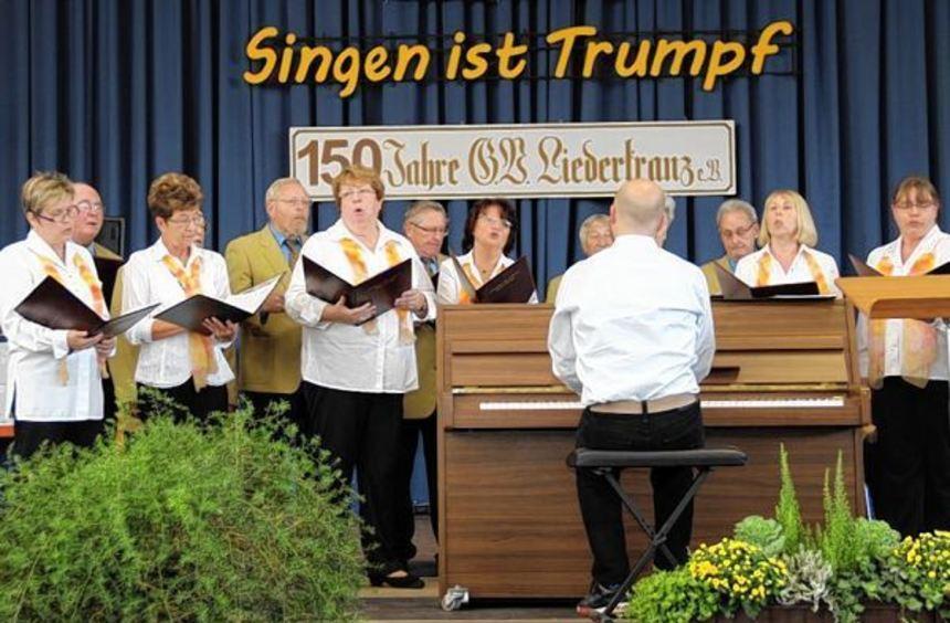 Wenn der Groß-Rohrheimer Liederkranz seinen 150. Geburtstag feiert, macht auch der Nordheimer ...