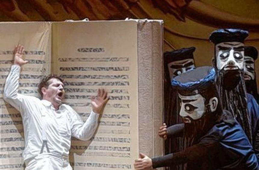 """War aus Gießen zu Gast im Schwetzinger Rokokotheater: """"Idomeneo""""."""