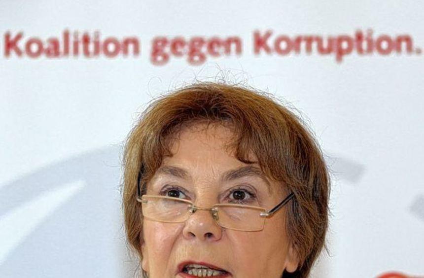 Edda Müller, Chefin von Transparency International in Deutschland.