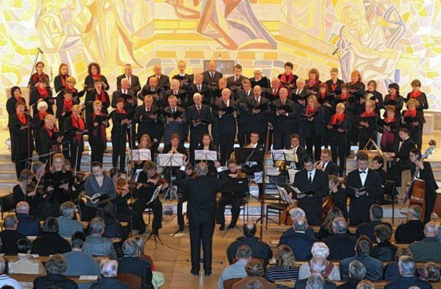 Der Kirchenchor Mariä Verkündigung beim Konzert zum 40-jährigen Bestehen. In zwei Jahren hätte er ...