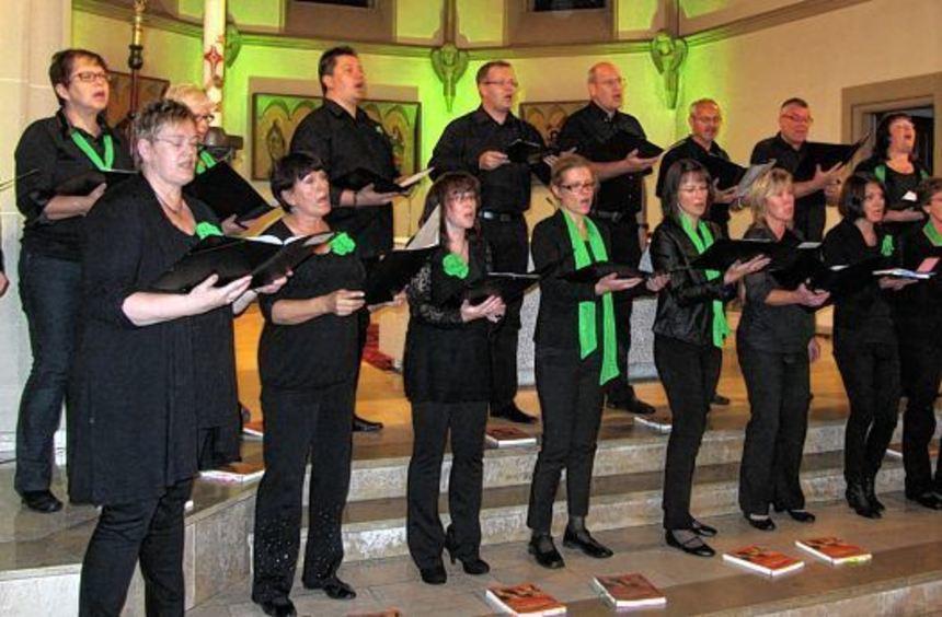 """""""Spirit of Music"""" präsentierte sich in der St. Bonifatius-Kirche mit erweitertem Repertoire."""