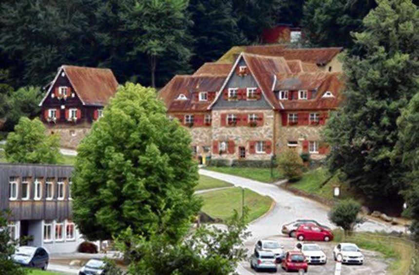 Die Odenwaldschule im Heppenheimer Stadtteil Ober-Hambach.