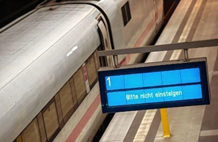 Heute dürften wieder etliche Züge stillstehen.