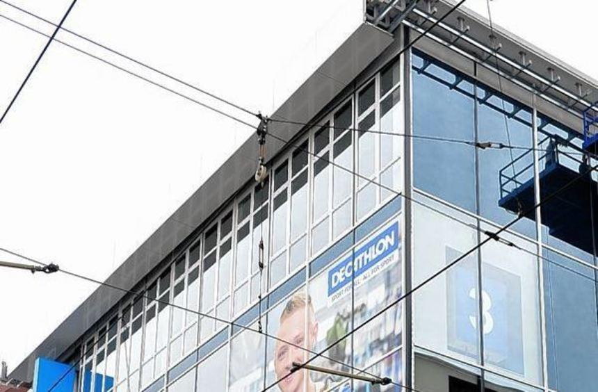 Die neue Mannheimer Decathlon-Filiale gilt als Pilotprojekt.