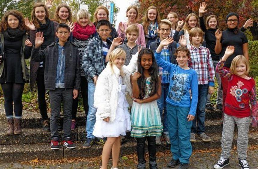 """Auch die vielen Kinderdarsteller freuen sich schon auf die Aufführung von """"K wie Heimat""""."""