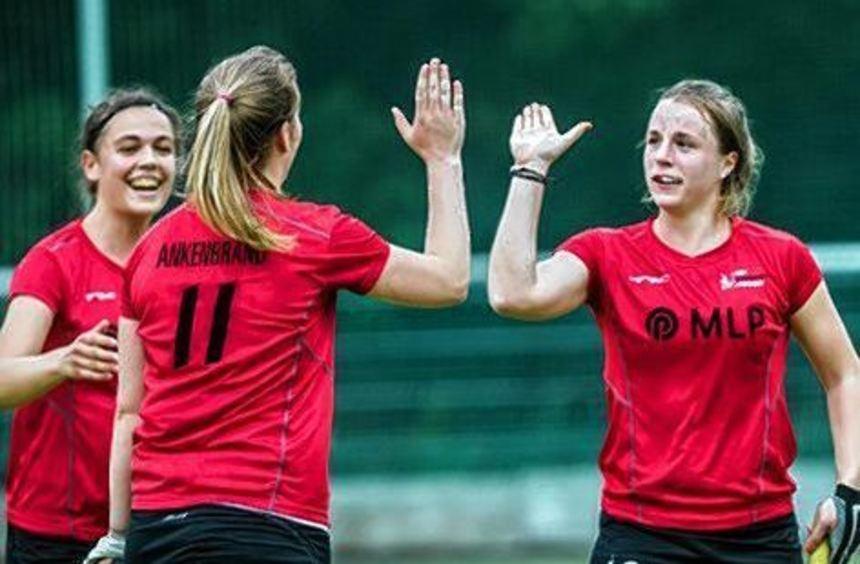 Titelverteidiger bei den Damen: TSV Mannheim Hockey.