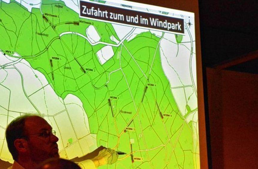 In Kürze beginnen im Klosterwald die Rodungsarbeiten für den Bau des Windparks. Für diese Arbeiten ...