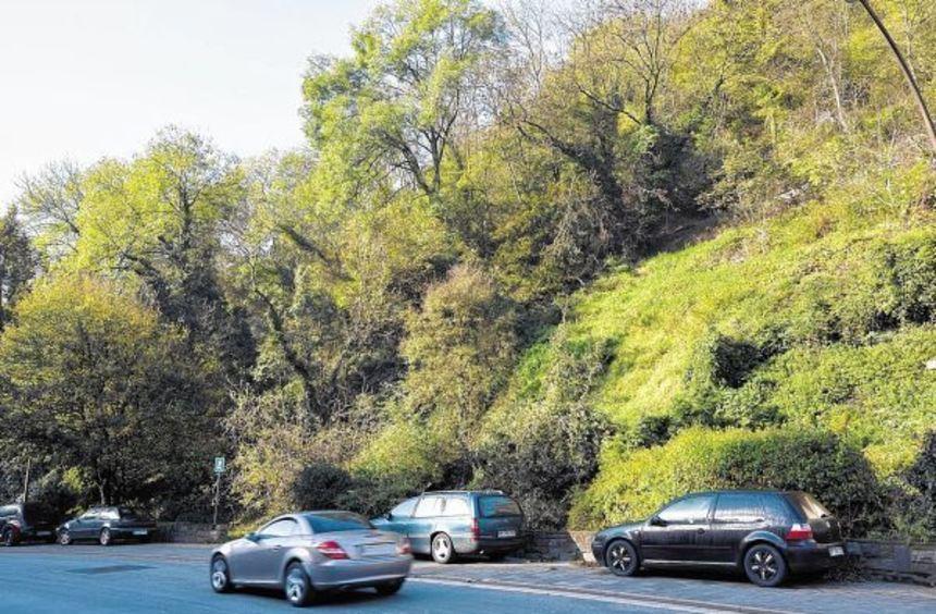 Das Grundstück oberhalb der kleinen Parkanlage an der Siegfriedstraße wurde verkauft. ...