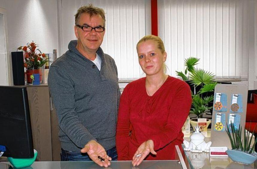 Meister Jörg Schreiber und Kristin Klein bieten in ihren neuen Geschäftsräumen alles rund um die ...