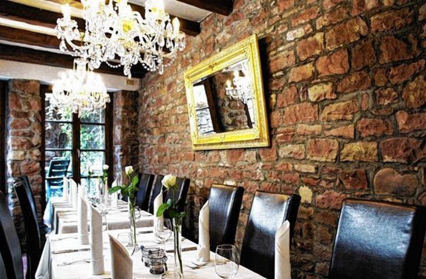 Geschmackvolles Ambiente im Restaurant Weingärtner.