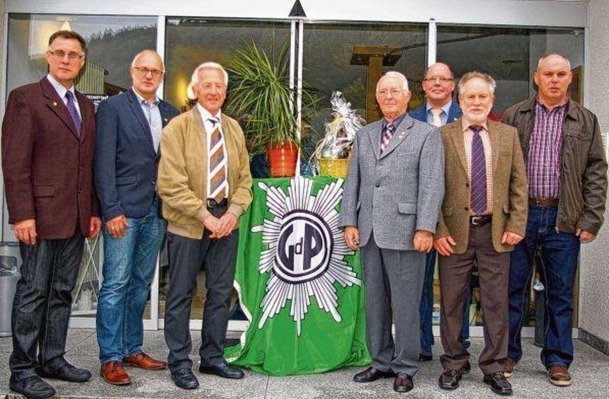 Bei der Mitgliederversammlung der Gewerkschaft der Polizei im Neckar-Odenwald-Kreis wurden ...