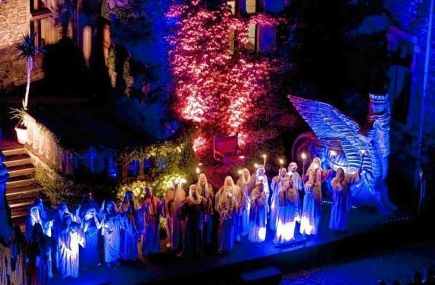 Märchenhafte Stimmung: Auf Burg Lindenfels gibt es im Sommer wieder eine Oper unter freiem Himmel.
