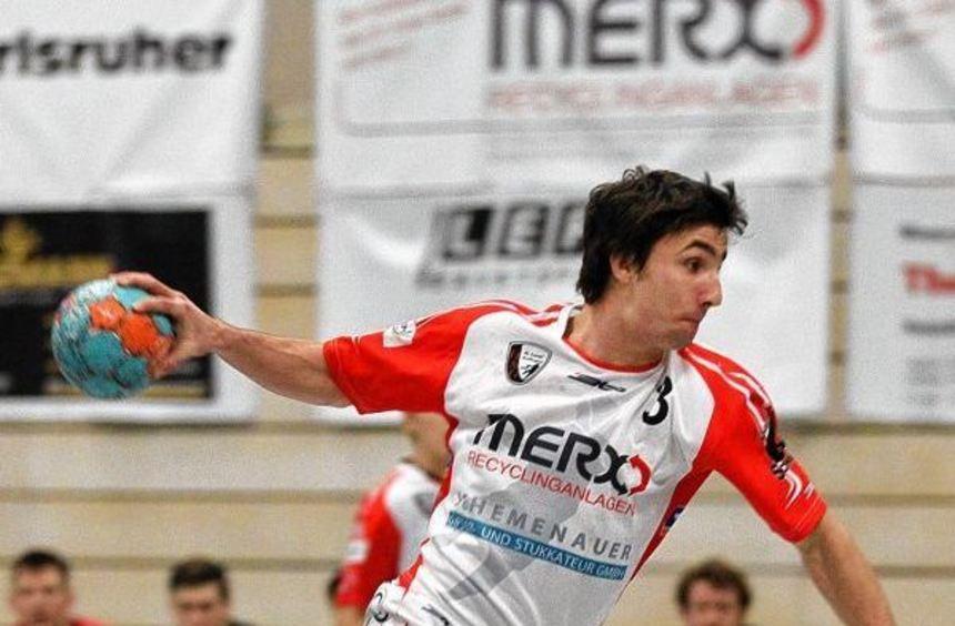 Dreh- und Angelpunkt im Spiel der HSG St. Leon/Reilingen ist der Mittelmann Andreas Rausch.