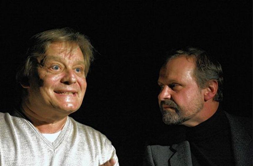 Zwei Männer über zwei Frauen: Wolfgang Mondini und Frank Muth.