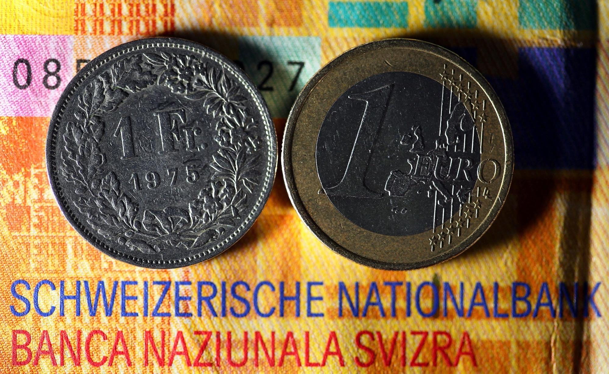 Die Schweizer Nationalbank hat die Kopplung des Franken an den Euro aufgehoben.